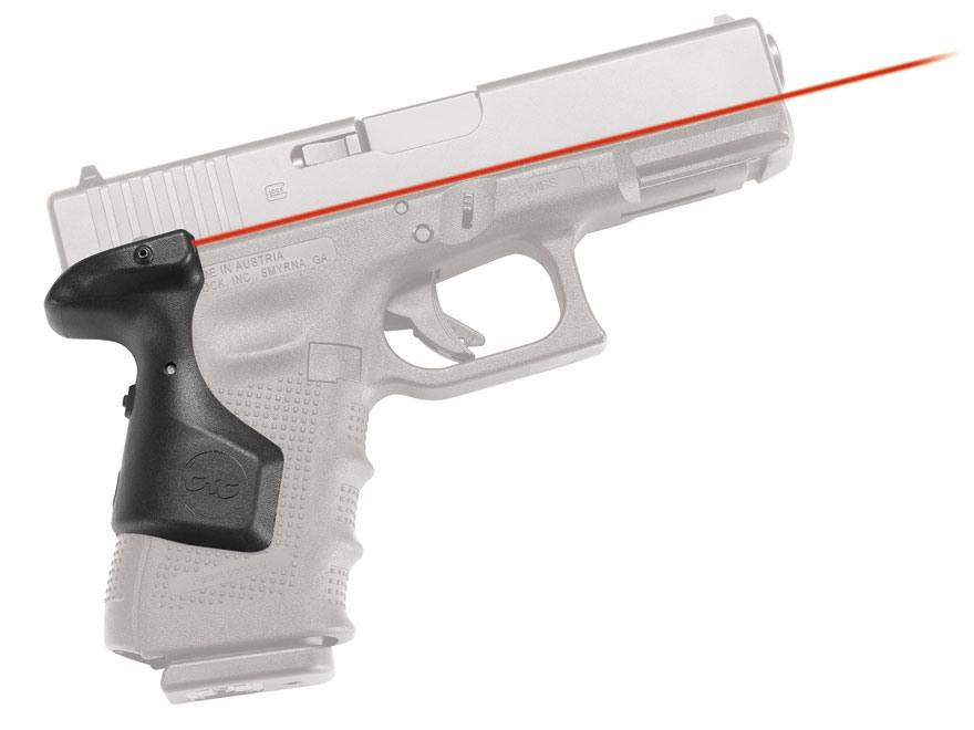 Crimson Trace Lasergrips Glock Gen-4 Rear Activation Polymer Black