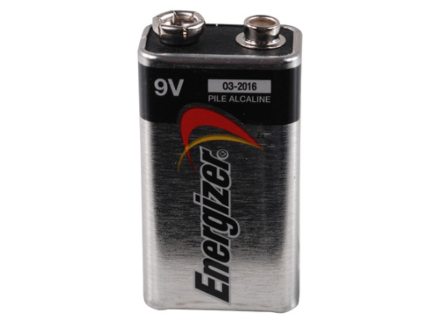 Energizer Battery 9 Volt Max Alkaline Pack of 2