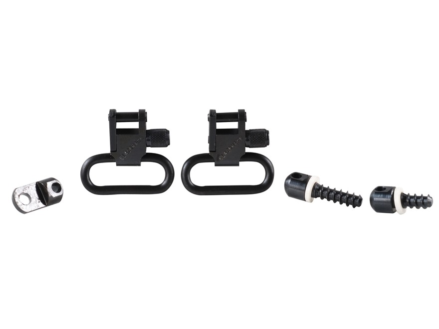 "BlackHawk Lok-Down Sling Swivel Set Ruger 10/22, 44 Carbine, Number 3 1"" Steel"
