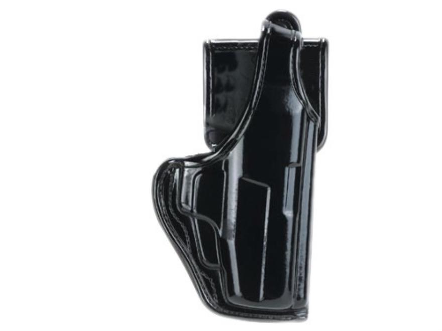 Bianchi 7920 AccuMold Elite Defender 2 Holster Right Hand Glock 19, 23, Taurus PT24/7 Nylon High-Gloss Black