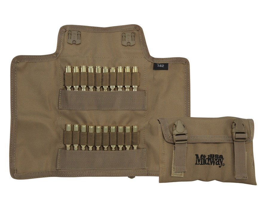 MidwayUSA Folding Rifle Ammunition Case MOLLE Compatible