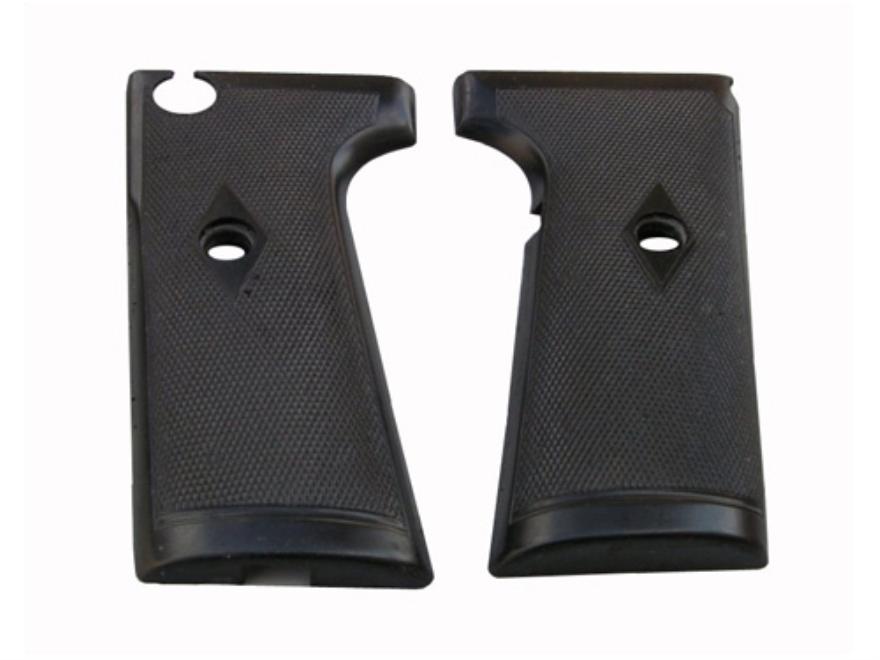 Vintage Gun Grips Webley 1910 without Escutcheon 38 ACP Polymer Black