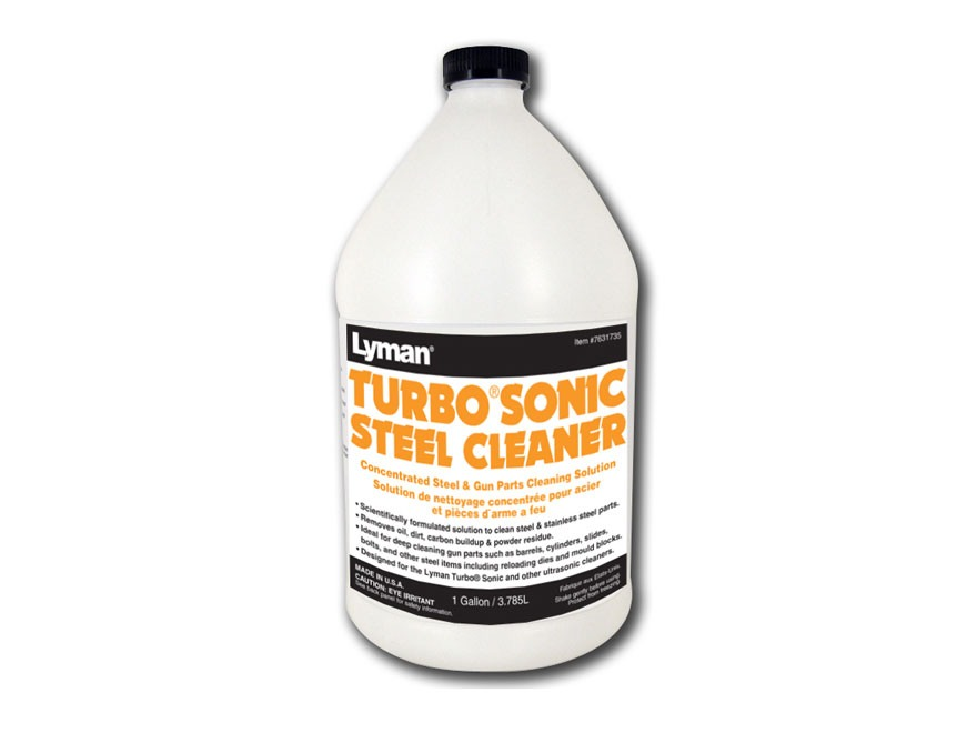Lyman Turbo Sonic Ultrasonic Steel Cleaning Solution Liquid