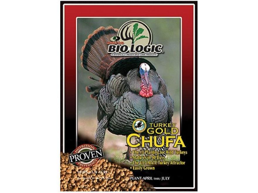 BioLogic Turkey Gold Chufa Annual Food Plot Seed 10 lb