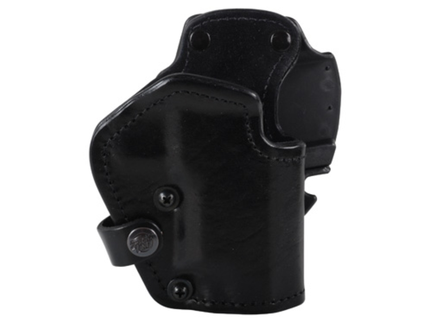Front Line LKC 3-Layer Belt Holster Right Hand Sig Sauer P226 Suede Lined Leather and Kydex Black