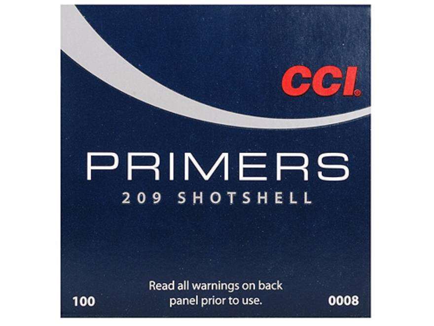 CCI Primers #209 Shotshell