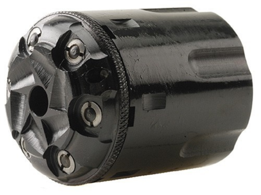 Howell Old West Conversions Conversion Cylinder 44 Caliber Pietta 1858 Remington Steel Frame Black Powder Revolver 45 Colt (Long Colt) 6-Round