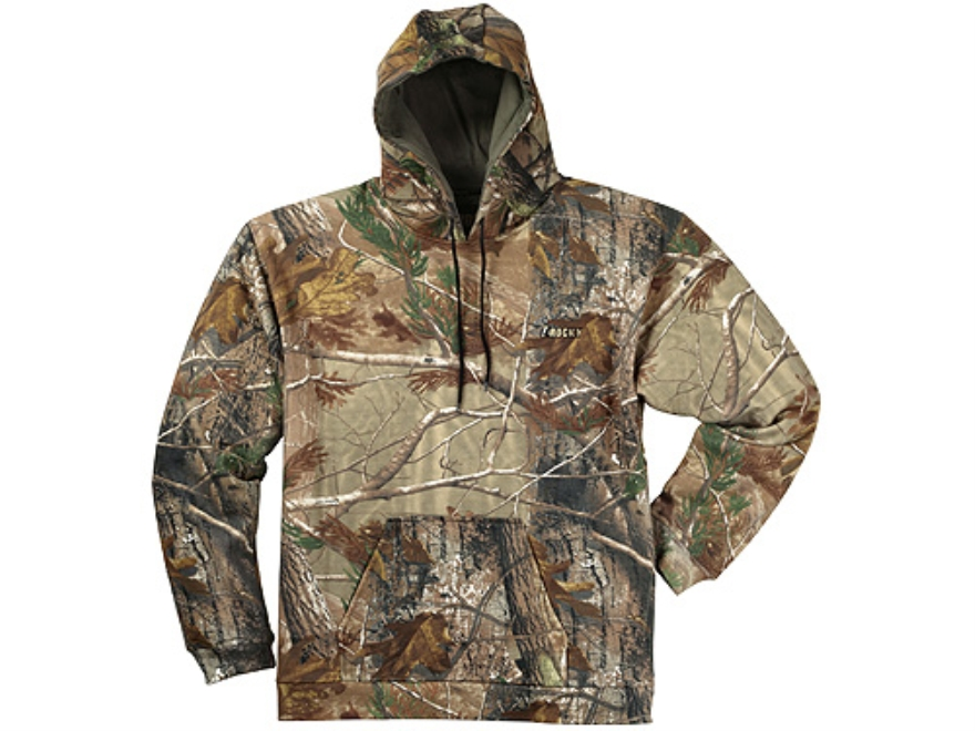 Rocky Men's Vitals Hooded Sweatshirt Cotton Polyester Blend Realtree AP Camo 2XL 50-52