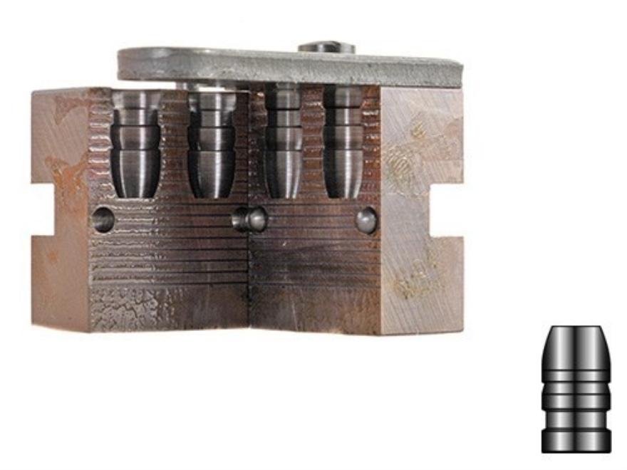 Lyman 2-Cavity Bullet Mold #358665 38 Special, 357 Magnum (358 Diameter) 158 Grain Flat Nose
