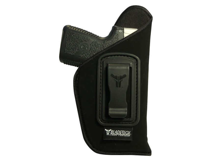 "Blade-Tech Soft Holster Inside the Waistband Right Hand Medium Frame Auto 2-1/2"" to 3-1/2"" Barrel Size 3 Neoprene Black"