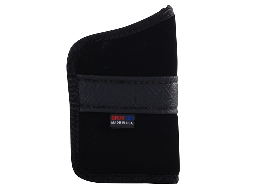 GrovTec GT Pocket Holster Ambidextrous Sub-Compact 9mm, 40 S&W Semi-Automatics Nylon Black
