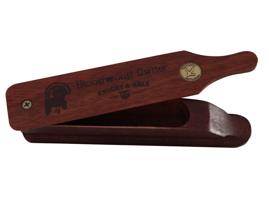 Knight & Hale Bloodwood Cutter Box Turkey Call