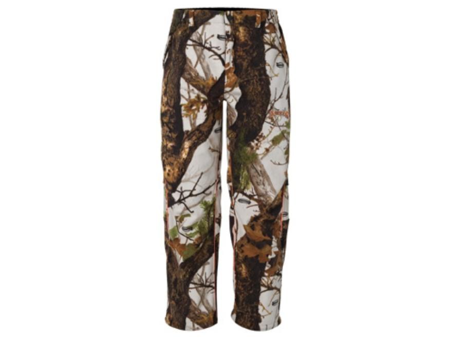 "Scent-Lok Men's Rampage Pants Polyester Vertigo Gray Camo XL 40-42 Waist 32"" Inseam"