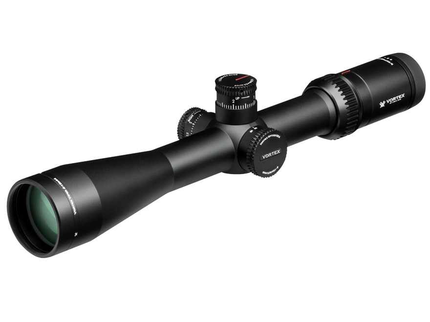 Vortex Optics Viper HS-T Rifle Scope 30mm Tube 4-16x 44mm Side Focus 1/10 MIL Adjustment VMR-1 MRAD Reticle Matte
