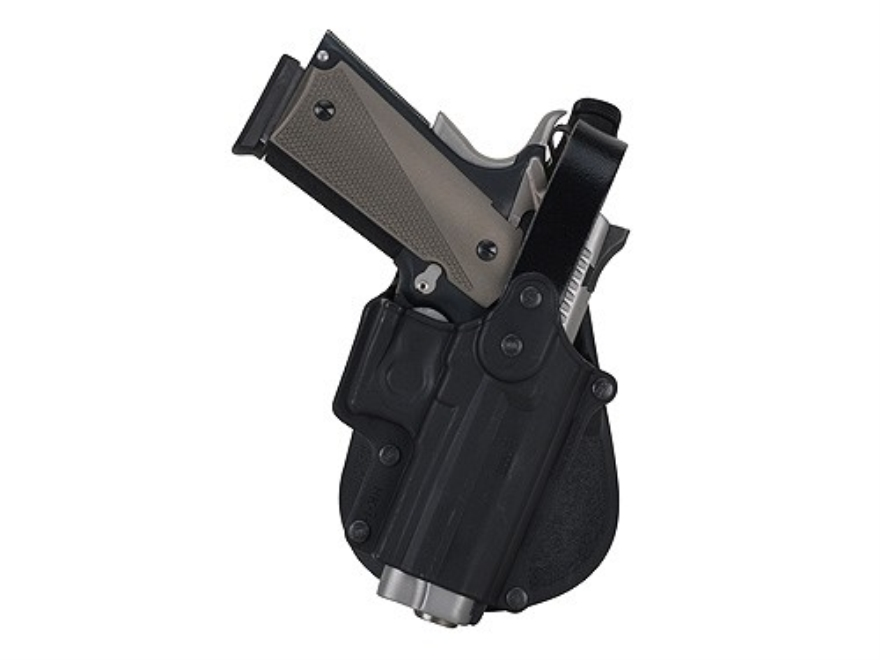 Fobus Thumb Break Paddle Holster Right Hand Sig Sauer 220, 225, 226, 228, 229, 245, S&W 3913, 4013, 5906, 6906 Polymer Black