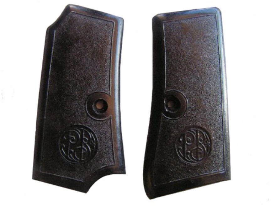 Vintage Gun Grips Beretta 1934 Early Model, Inserts Only Polymer Black