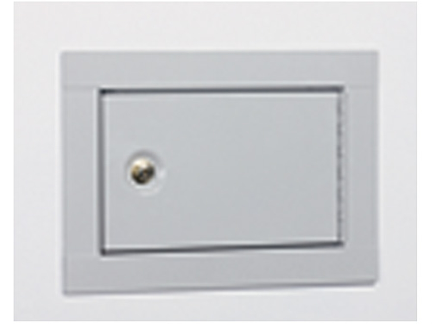 Stack-On In Wall Pistol Security Cabinet Beige