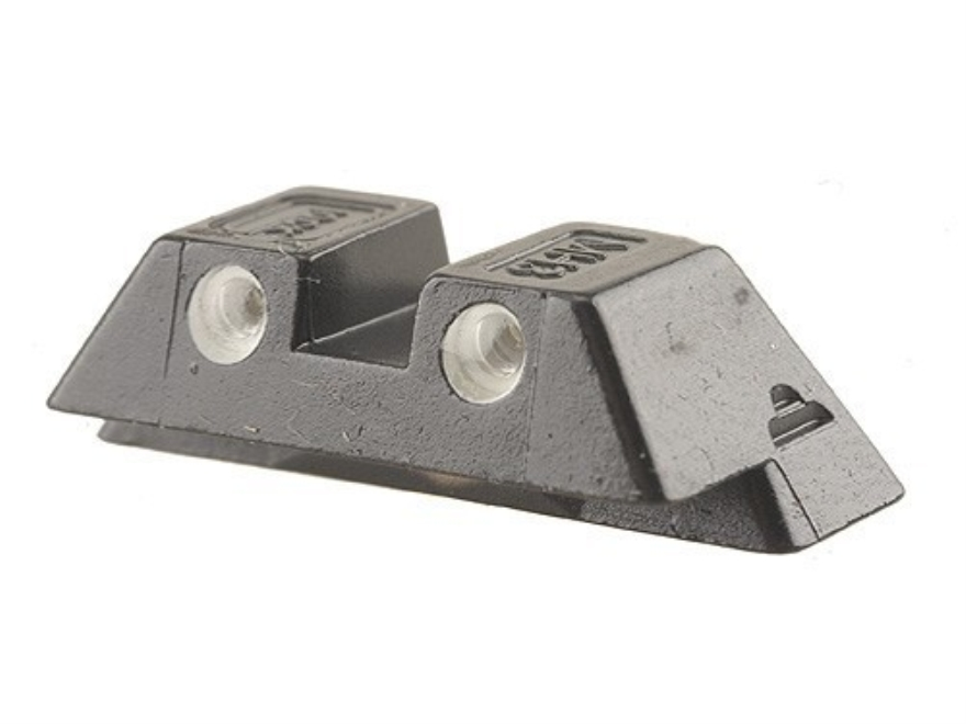"Glock Rear Sight 6.9mm .271"" Height Steel Black Tritium"
