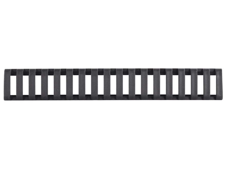 "Yankee Hill Machine Low Profile Picatinny Rail Cover 6-3/4"" Polymer Black"
