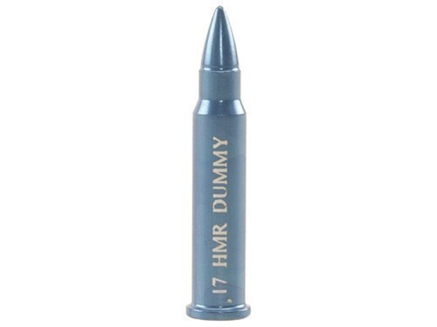 A-ZOOM Action Proving Dummy Round, Snap Cap 17 Hornady Magnum Rimfire Aluminum Package ...