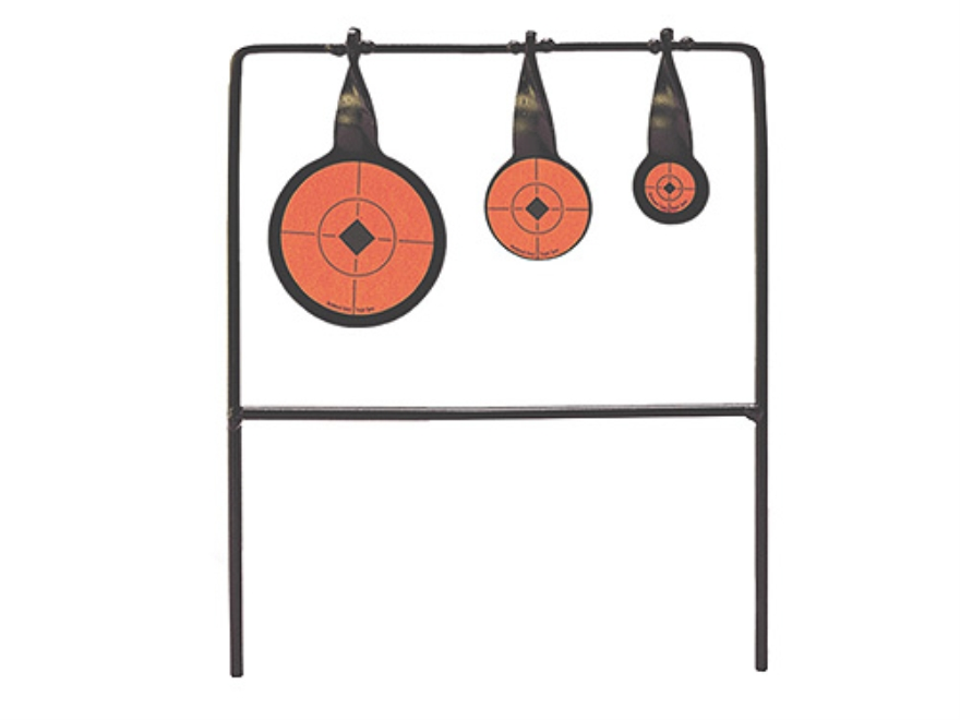 Birchwood Casey 22 Rimfire Qualifier Triple Swinger Target Steel Black