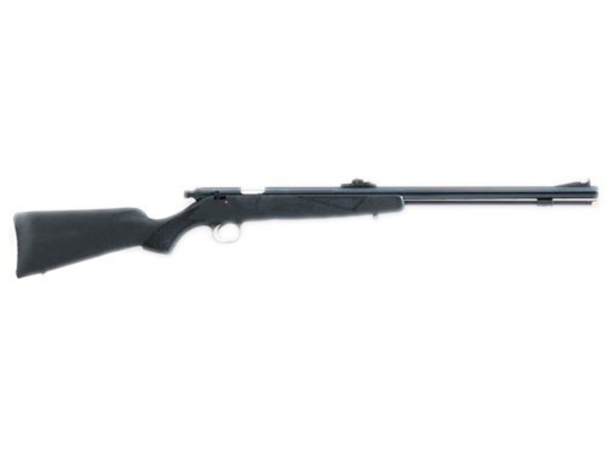 "Knight Wolverine 209 Muzzleloading Rifle 50 Caliber #209 Primer Black Composite Stock 1 in 28"" Twist 22"" Blue Barrel Value Pack"