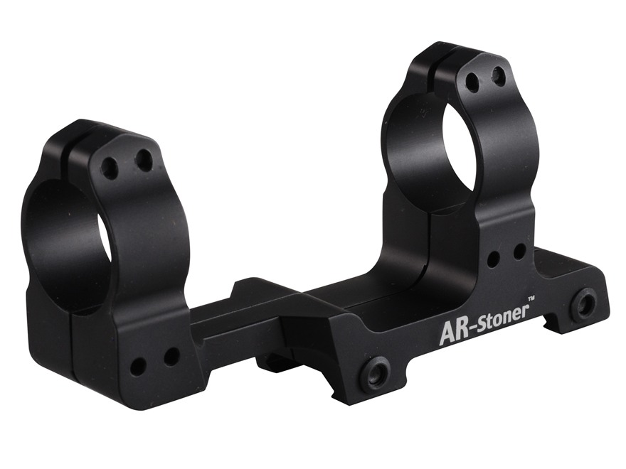 AR-Stoner 1-Piece Extended Scope Mount Picatinny-Style with Integral Rings Flat-Top AR-15 Matte