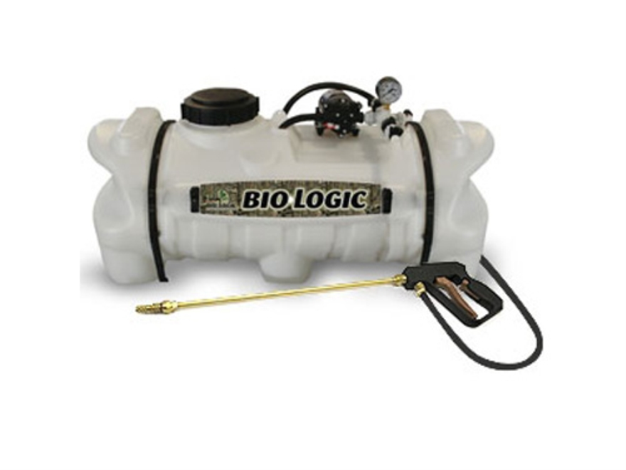 Biologic 15 Gal ATV Sprayer Polymer White