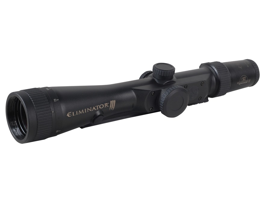 Burris Eliminator III Laser Rangefinding Rifle Scope 4-16x 50mm Adjustable Objective X96 Reticle Matte