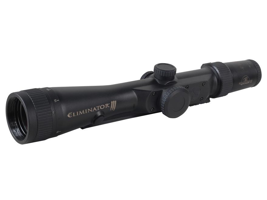 Burris Eliminator III Laser Rangefinding Rifle Scope 4-16x 50mm Adjustable Objective X96 Reticle Matte