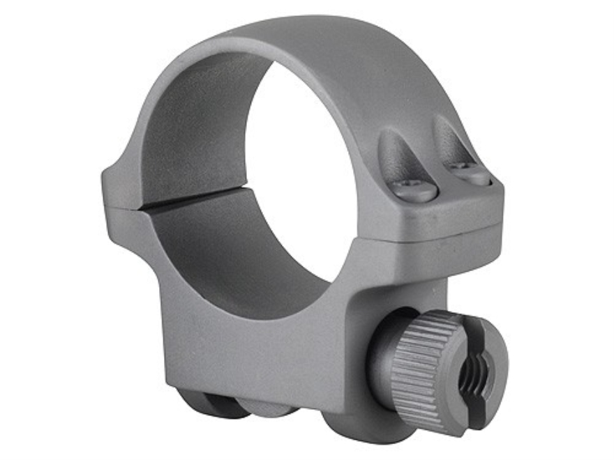 "Ruger 1"" Ring Mount 3KHM Silver Matte Low"