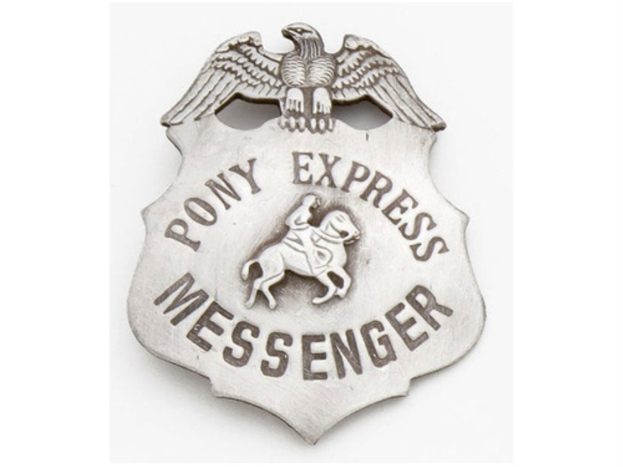 Collector's Armoury Replica Old West Deluxe Pony Express Badge