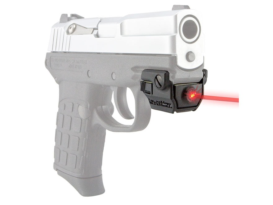 LaserMax Uni-Max Micro External Red Laser with Integral Picatinny-Style Mount for Compact and Sub-Compact Pistols Matte