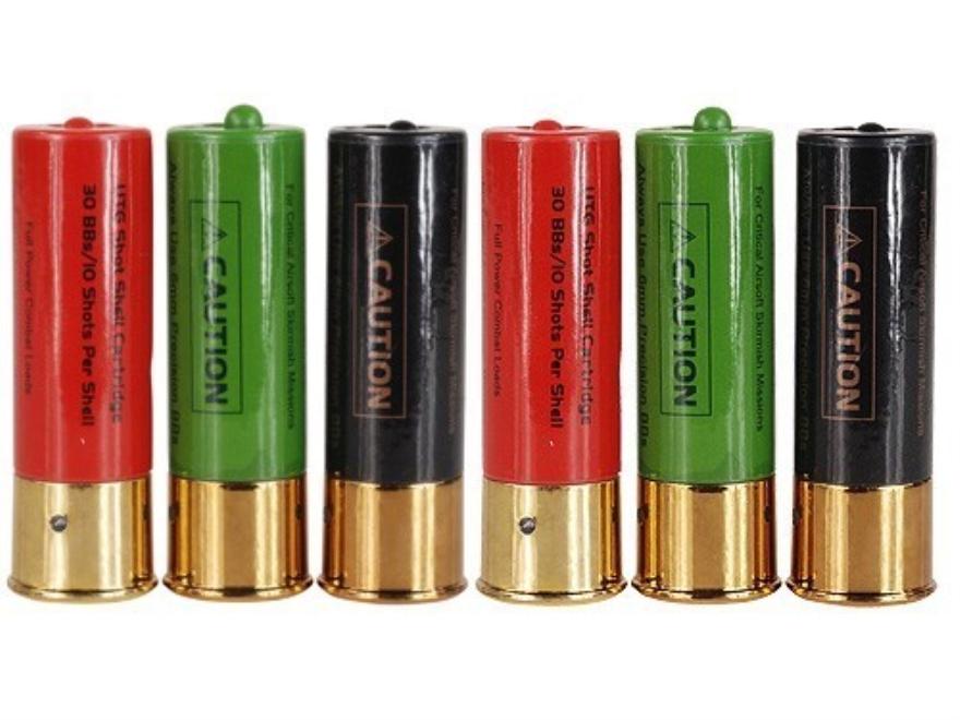UTG Airsoft Shot Shells 3 Multi-Shot Shotgun Package of 6