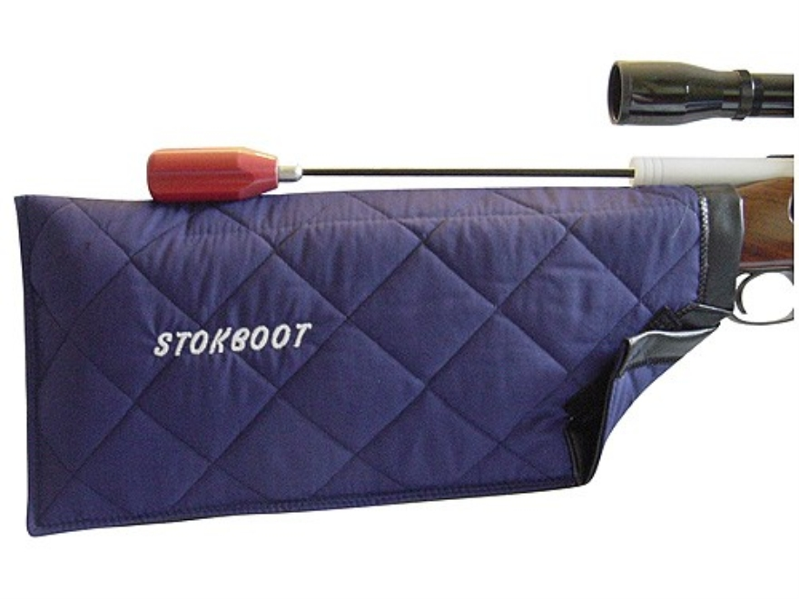 Bill Gammon Stokboot Stock Protector Boot Cotton and Vinyl Blue