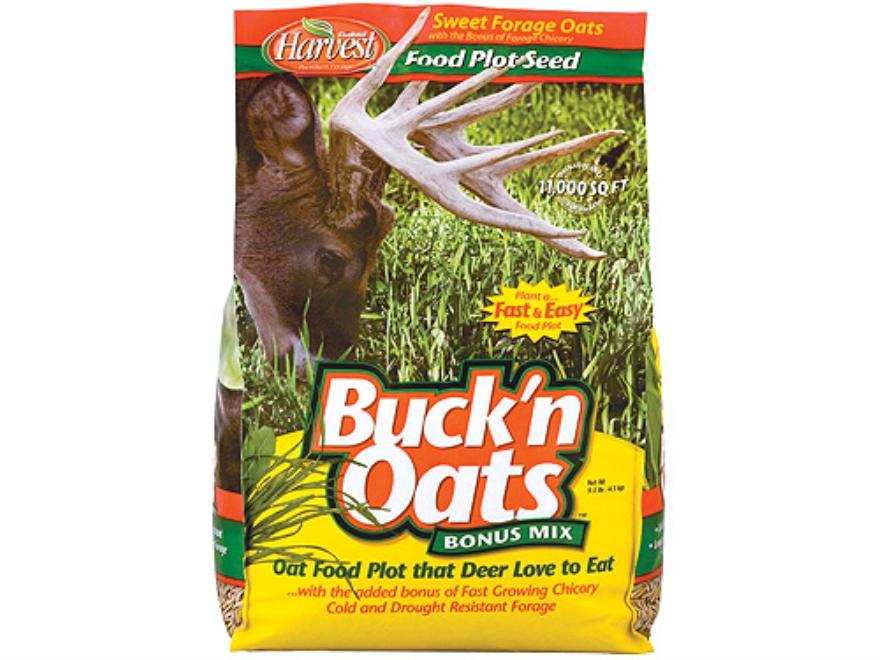 Evolved Harvest Buck'n Oats Food Plot Seed 9.5 lb