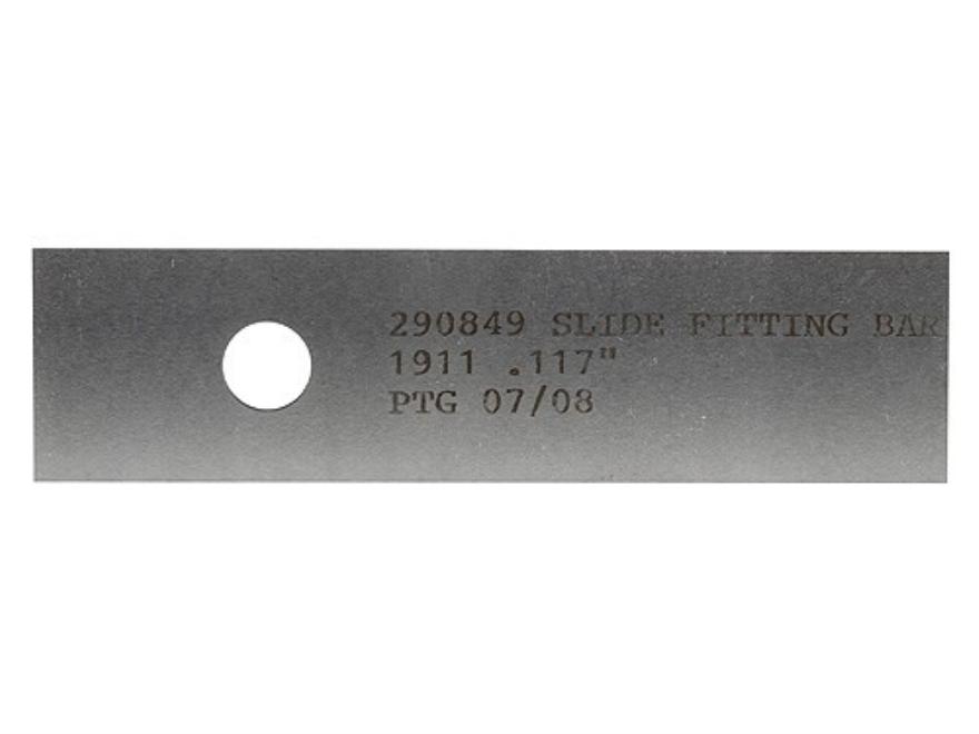 """PTG Slide Fitting Bar 1911 .117"""""""