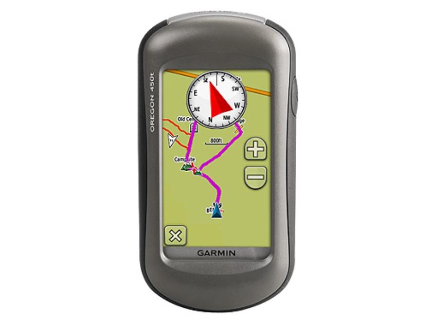 Garmin Oregon 450T Handheld GPS Unit