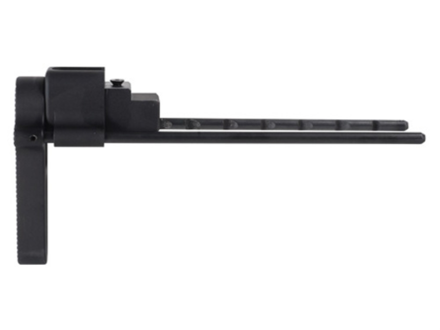 Nordic Components Compact Retractable Stock AK-47, AK-74 Stamped Receivers Black