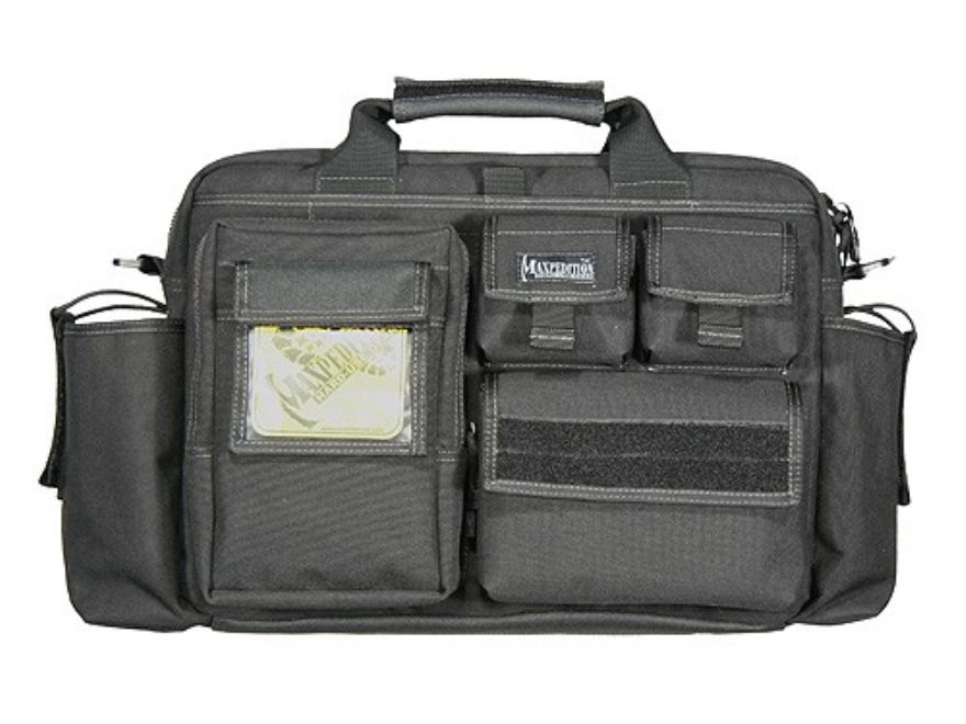 Maxpedition Operator Tactical Attache Case Nylon Black