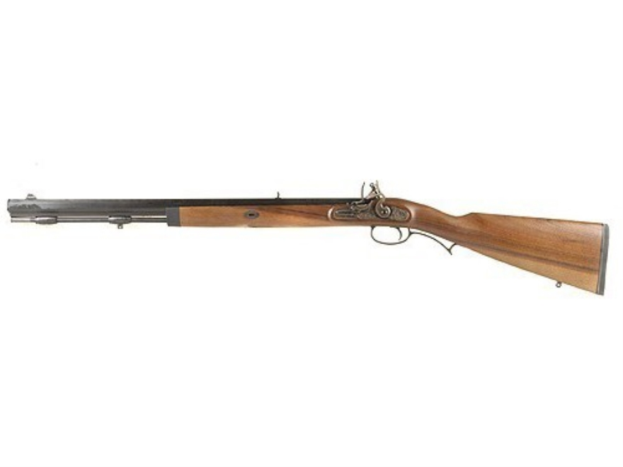 "Lyman Deerstalker Black Powder Rifle 54 Caliber Flintlock Wood Stock 1 in 48"" Twist 24"" Barrel Blue Left Hand"