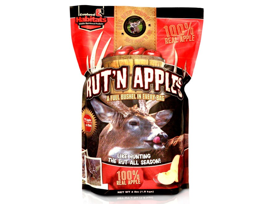 Evolved Habitats Rut'N Apples Deer Attractant Granular 4 lb