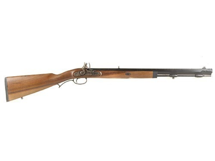 "Lyman Deerstalker Muzzleloading Rifle Flintlock Wood Stock 1 in 48"" Twist 24"" Barrel Blue"