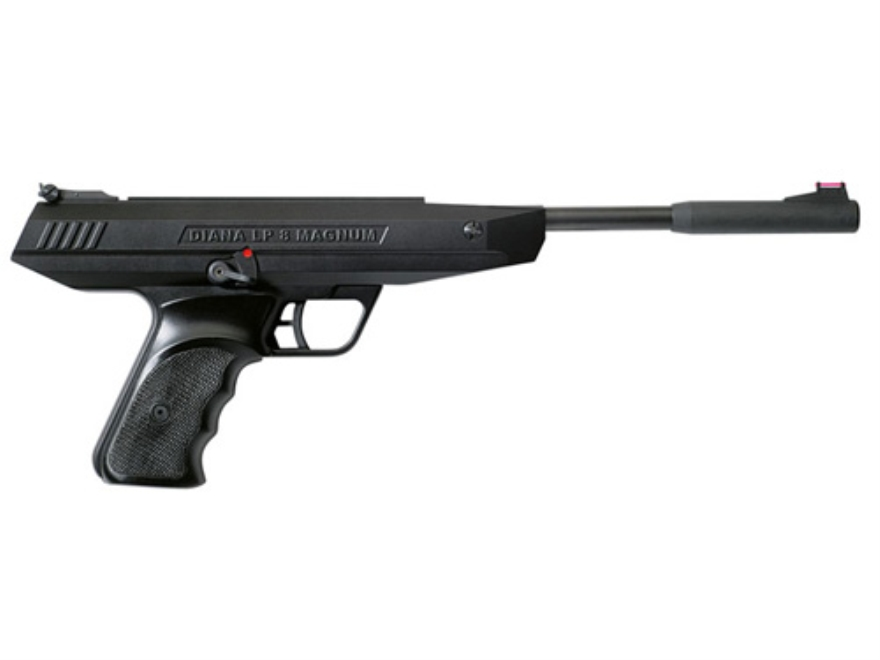 RWS LP8 Break Barrel Air Pistol 177 Caliber Pellet Black