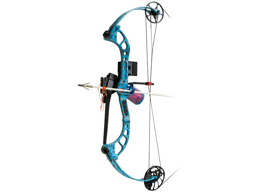 """PSE Wave Bowfishing Compound Bow Package Right Hand 20-40 lb. Up to 30"""" Draw Length Rea..."""