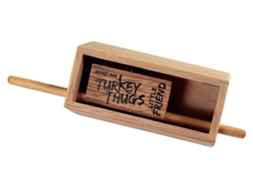 Quaker Boy Turkey Thugs Little Friend Push Button Box Turkey Call