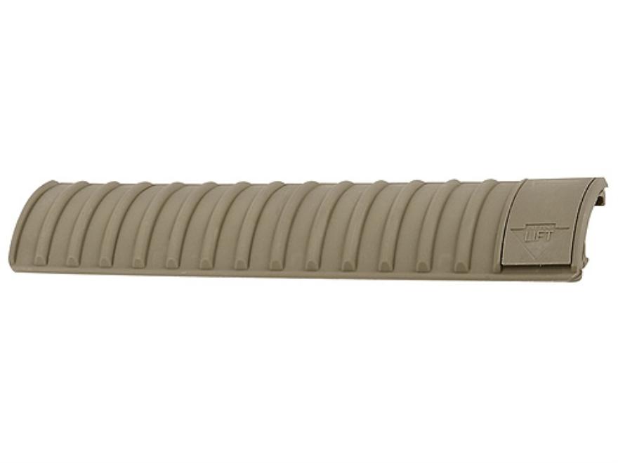 ERGO Riblock Locking Picatinny Rail Cover 16 Slot Polymer Dark Earth Package of 3
