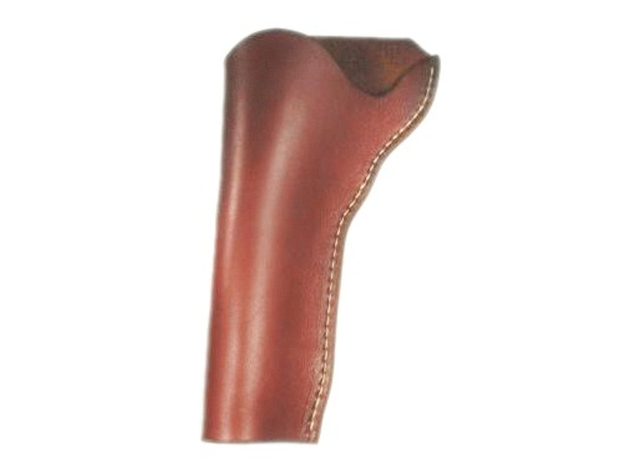 "Van Horn Leather Strong Side Slim Jim Holster 4.75"" Single Action Left Hand Leather Chestnut"