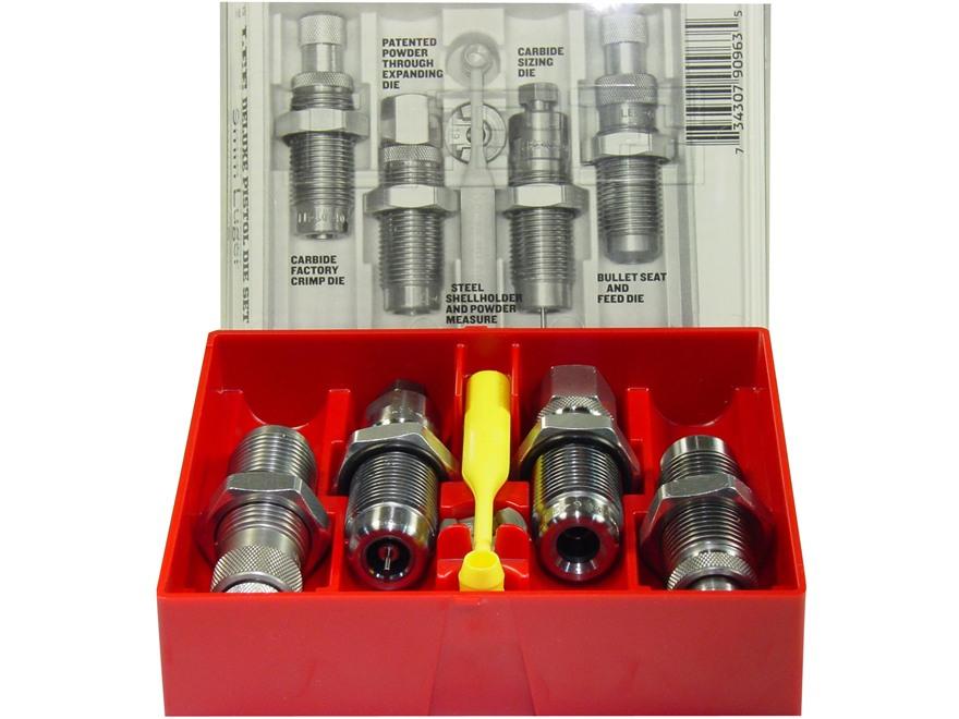 Lee Deluxe Carbide 4-Die Set 38 Special, 357 Magnum