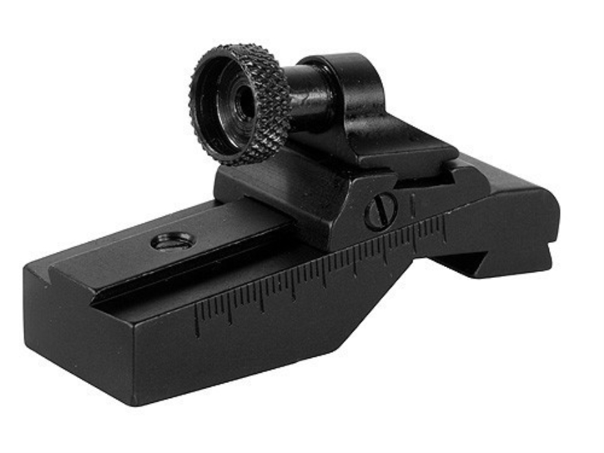 Williams WGRS-Mini-14/30 Guide Receiver Peep Sight Ruger Mini-14 Ranch Rifle and Mini-30 Aluminum Black